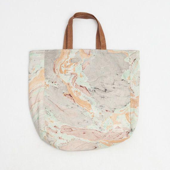 Marble Print Bag by Hokoda