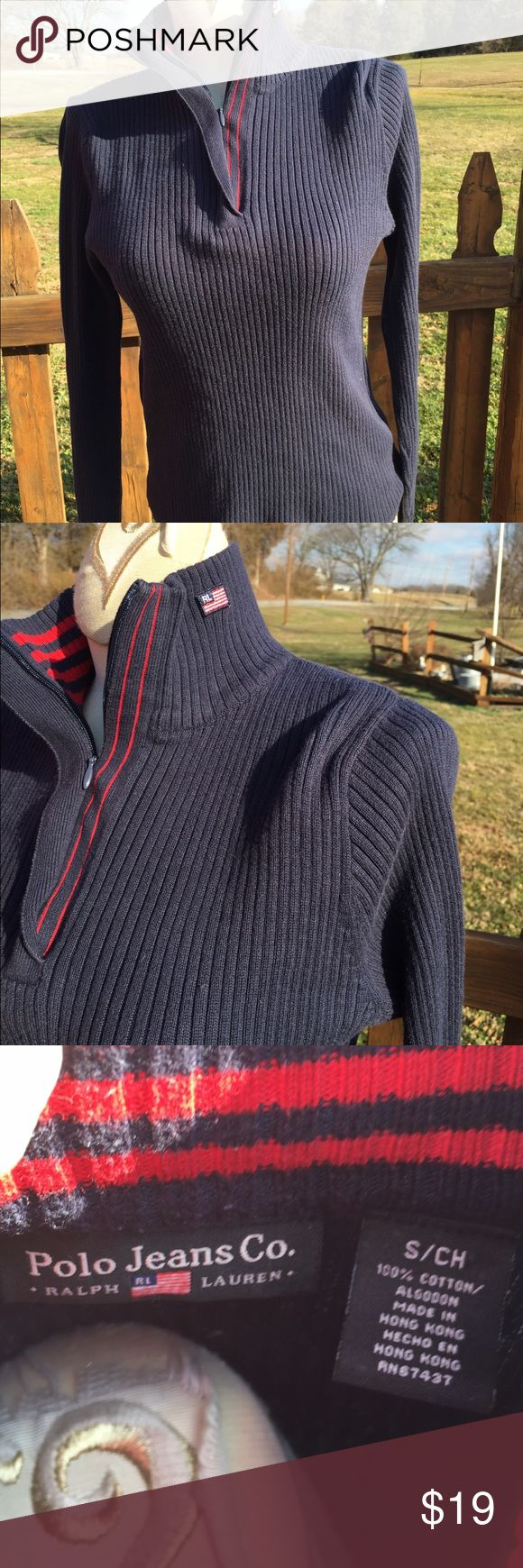 Polo Jeans Co Ralph Lauren Lightweight Sweater Size small. Super gently preowned. Be sure to view the other items in our closet. We offer both women's and Mens items in a variety of sizes. Bundle and save!! Thank you for viewing our item!! Ralph Lauren Sweaters Cowl & Turtlenecks