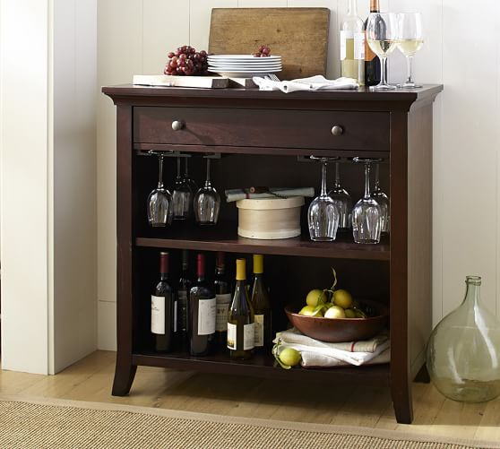 25 best wine racks images on pinterest wine cabinets for Pottery barn wine rack wood