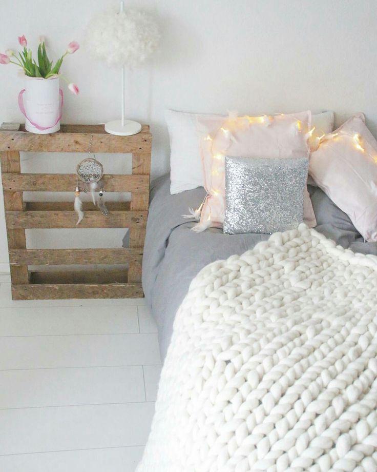 Die besten 25+ Graue bettwäsche Ideen auf Pinterest weißgraues - schlafzimmer weiß grau