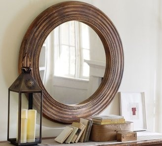 POPSUGAR Shopping: Pottery Barn Madari Round Mirror