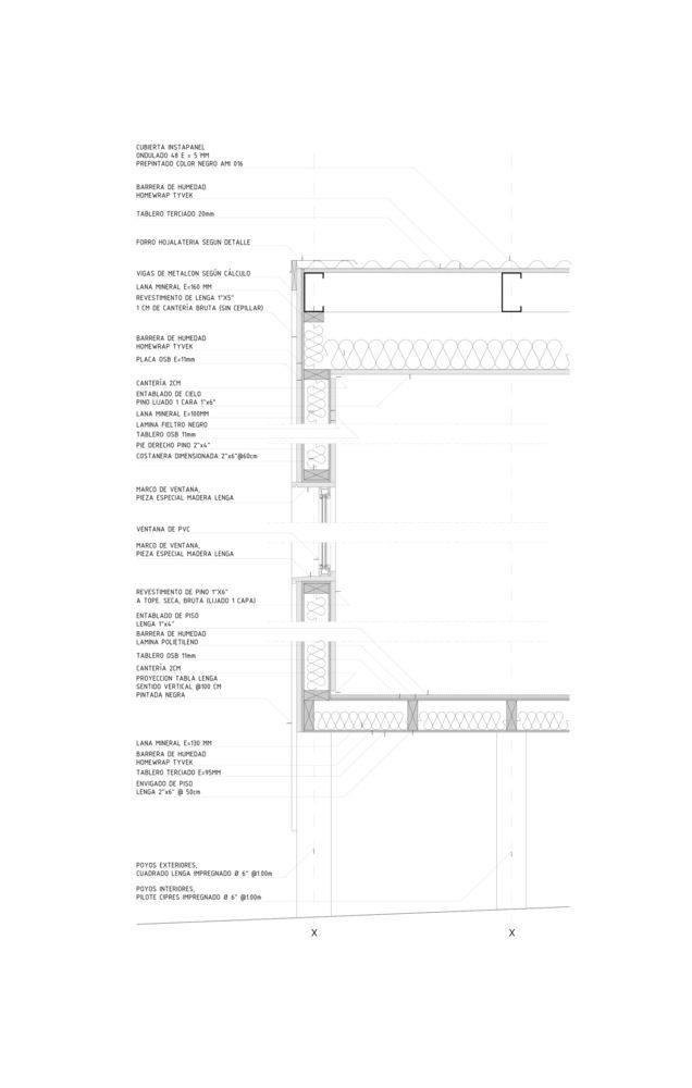 Galería de 50 Detalles constructivos de arquitectura en madera - 206