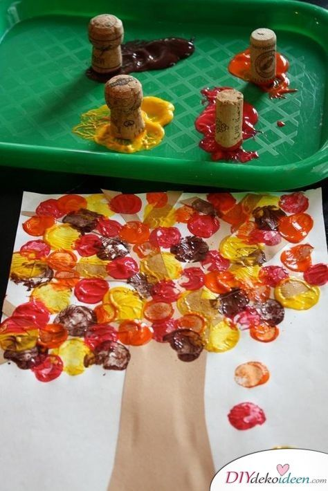 Tinker autumn decoration – Great DIY craft ideas for the beginning of autumn