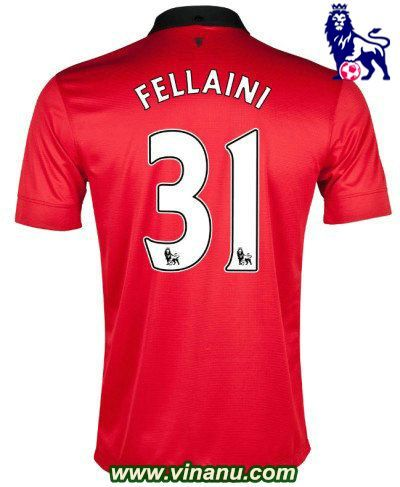Manchester United soccer jersey 2013/14