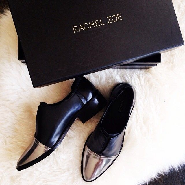 Gorj shot of the #rachelzoe Raven oxfords by eat. sleep. wear.