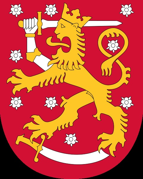 Finnish coat of arms - I want this as a tattoo some day soon.