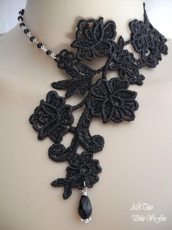 Victoriano collar joyería gótica traje joyería por stylbruchdesign