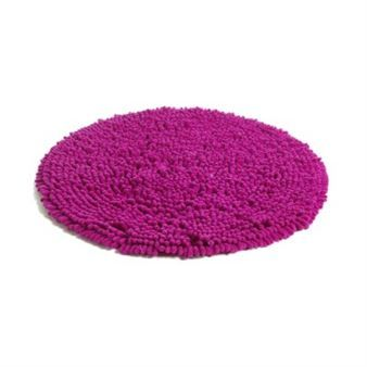 Rasta round rug - cyclamen - Etol Design