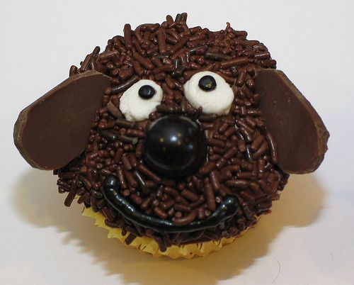 """Love the Chocolate Sprinkles for """"fur"""""""