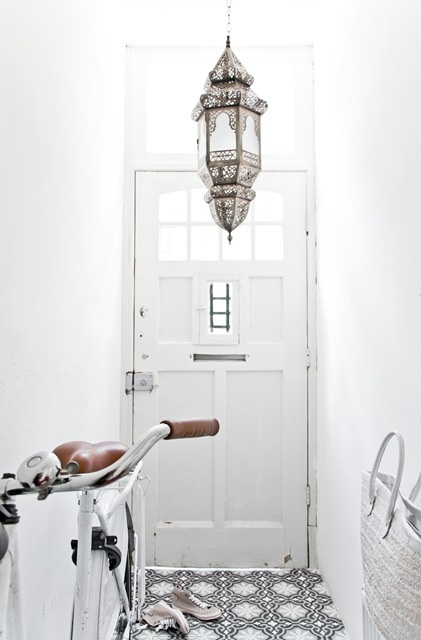 white marrocan, I love this floor for your entry.