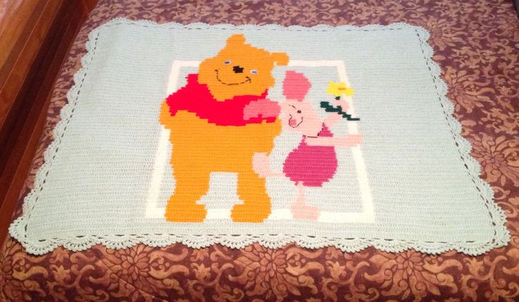 Mejores 567 imágenes de Crochet I Like - Disney Winnie the Pooh and ...