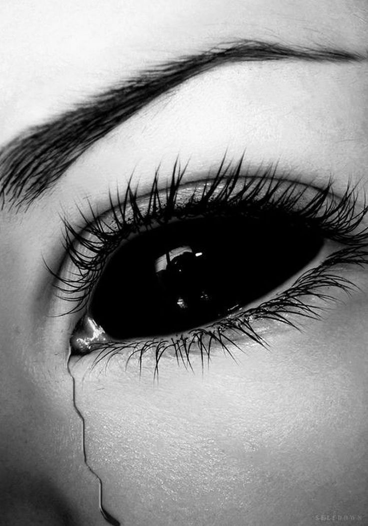 Картинки глаза со слезами для авы
