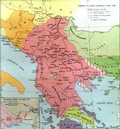 Best Atlas Images On Pinterest Cards Maps And Fingerprints - Serbia clickable map