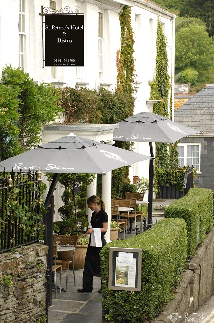 St Petroc's Bistro in the heart of Padstow. We stayed here at Rick Stein's St Petroc's when we visited Padstow. Loved it!