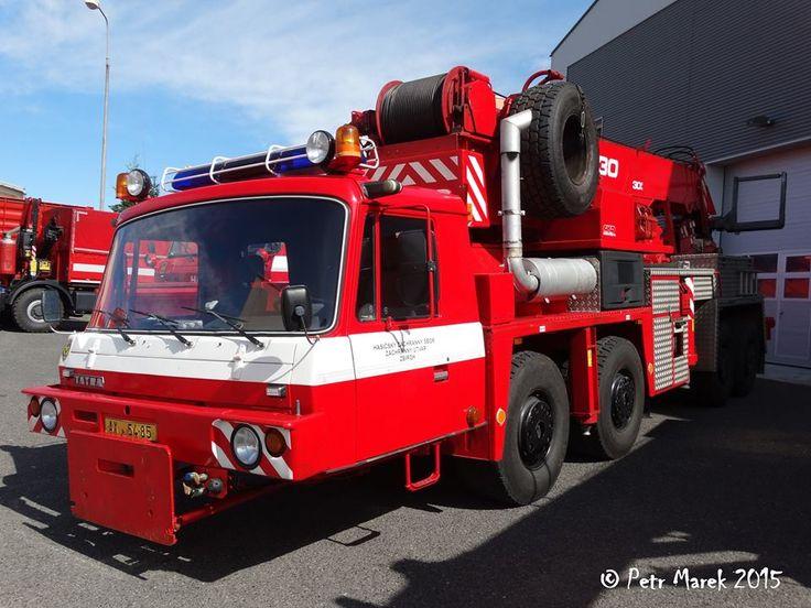 Tatra 815 8x8 -Vyprošťovací automobil S2 AV30 na podvozku