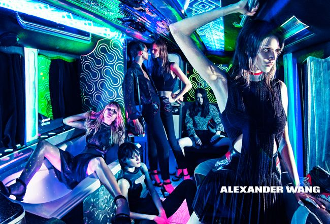 Alexander Wang 2015 Spring Summer Campaign by Steven Klein