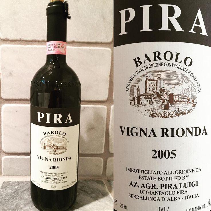 """331 gilla-markeringar, 8 kommentarer - Per Kamperin (@perkamperin) på Instagram: """"2005 Luigi Pira Barolo Vigna Rionda... #barolo #vignarionda #serralunga #serralungadalba #piedmont…"""""""