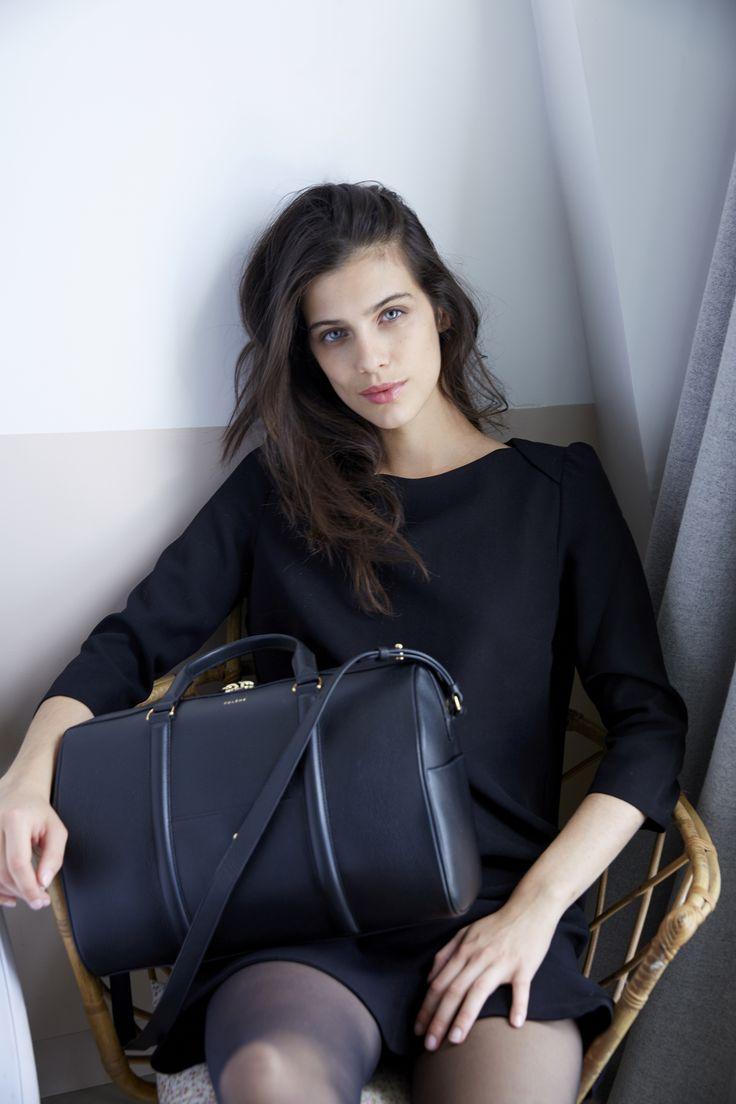 Numéro Trois - Édition Monochrome Noir - 350€  www.polene-paris.com  #handbag #fashionstyle #newbrand #parisianstyle #bagaddict #fashionista