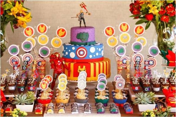 FESTA DOS VINGADORES: Festa Infantil, For Parties