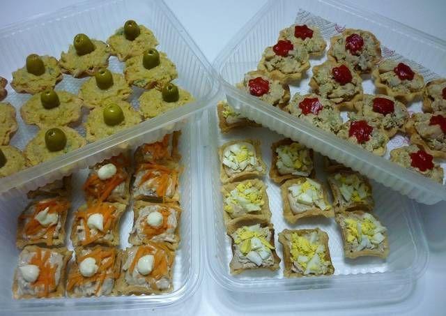Tartaletas saladas variadas -https://cookpad.com/ve/recetas/115005-tartaletas-saladas-variadas?ref=search