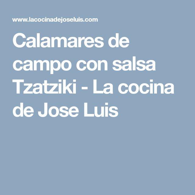 Calamares de campo con salsa Tzatziki - La cocina de Jose Luis
