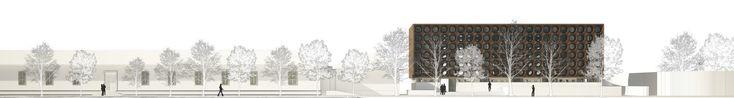 Galería de Ganadores Concurso Edificio Docente y de Investigación Escuela de Arquitectura UC - 10