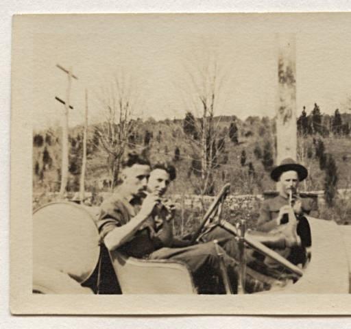 Three guardsmen :: The Haviland-Heidgerd Historical Collection: Havilandheidgerd Historical, Haviland Heidgerd Historical, Historical Collection