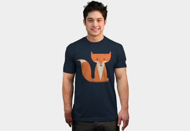 Red Tabby Fox T-Shirt - Design By Humans