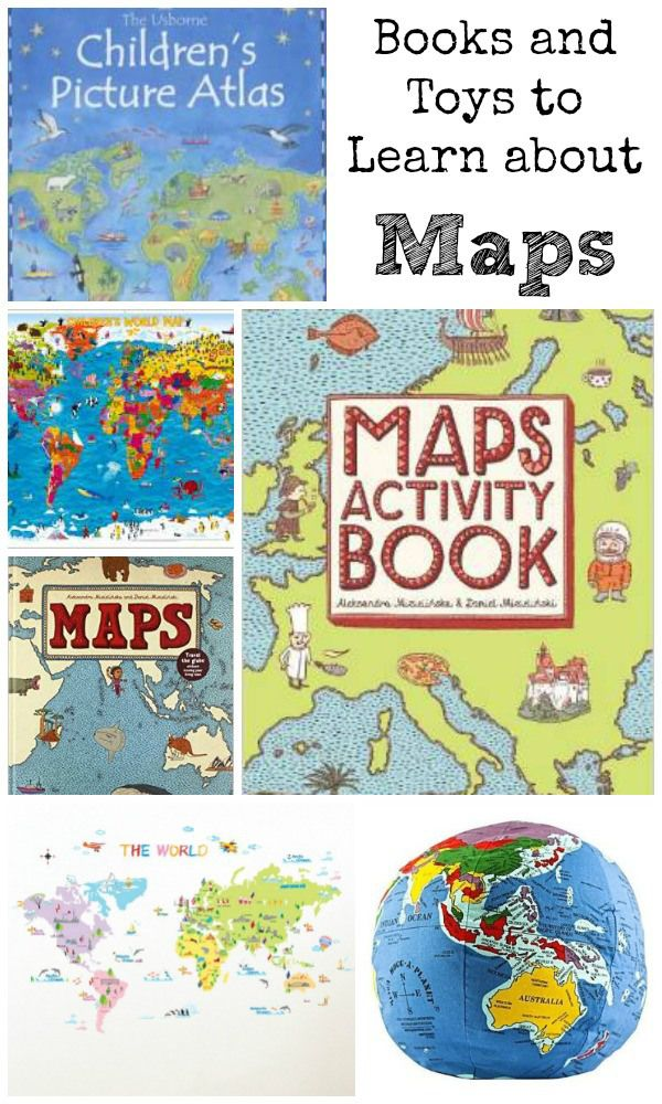 A-Z of Raising Global Citizens: Map Printables - In The Playroom