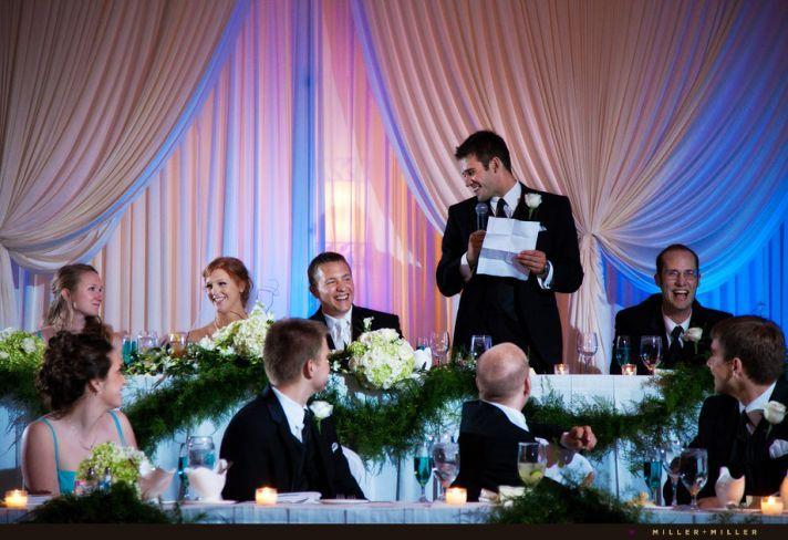 Best Man Wedding Toasts Chicago Reception