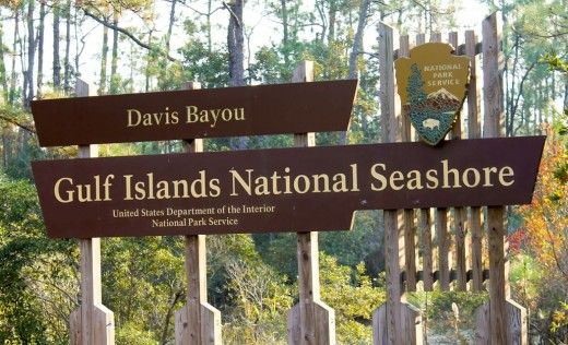 Gulf Islands National Seashore Park, Ocean Springs - Mississippi ...