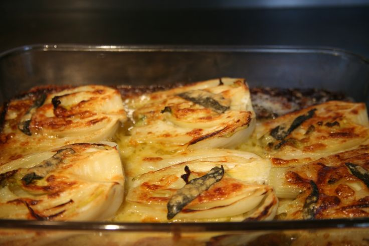 Just wanted to share this delicious recipe from Lidia Bastianich with you - Buon Gusto! BAKED FENNEL WITH SAGE