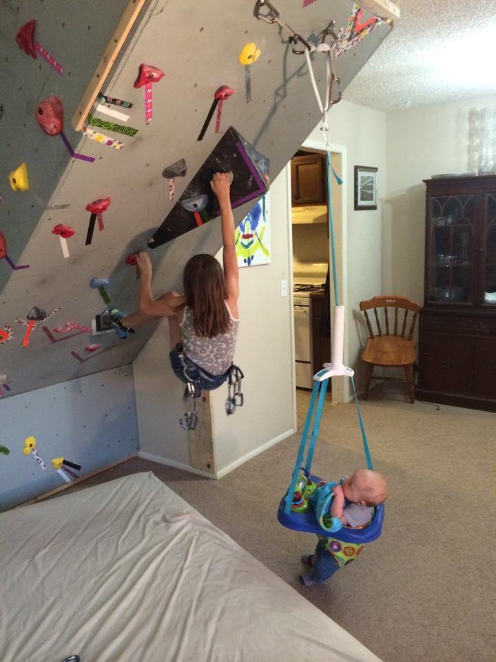 17 Best Ideas About Home Climbing Wall On Pinterest