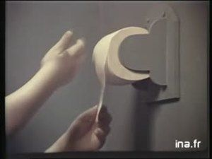 Papier toilette Lotus 1980