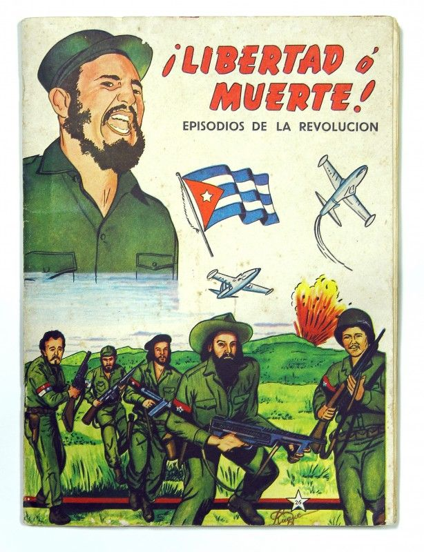 fidel castro and the anti us propaganda This cuban propaganda sign features the profile of fidel castro and when  translated reads fight against the impossible and win save me from my  the  10th us army infantry occupied havana, cuba around 1898 american tourist.