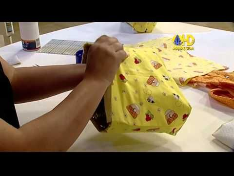 Bolsa Porta Marmita Térmica - por Renata Herculano - YouTube