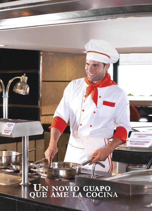 Este es el sueño de toda mujer que le gusta cocinar. #Filipinaparachef, #chef, #masterchef, #uniformeschef,  www.bigbang.mx