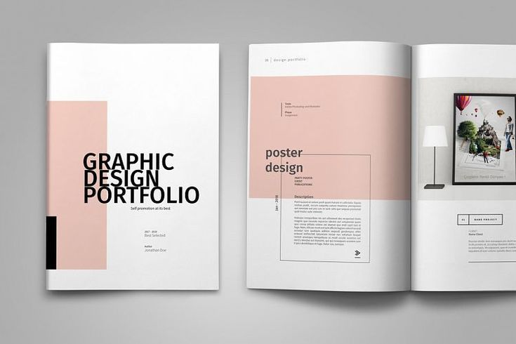 Grafikdesign Portfolio Vorlage Portfolio Design Layouts Grafik Design Broschurendesign