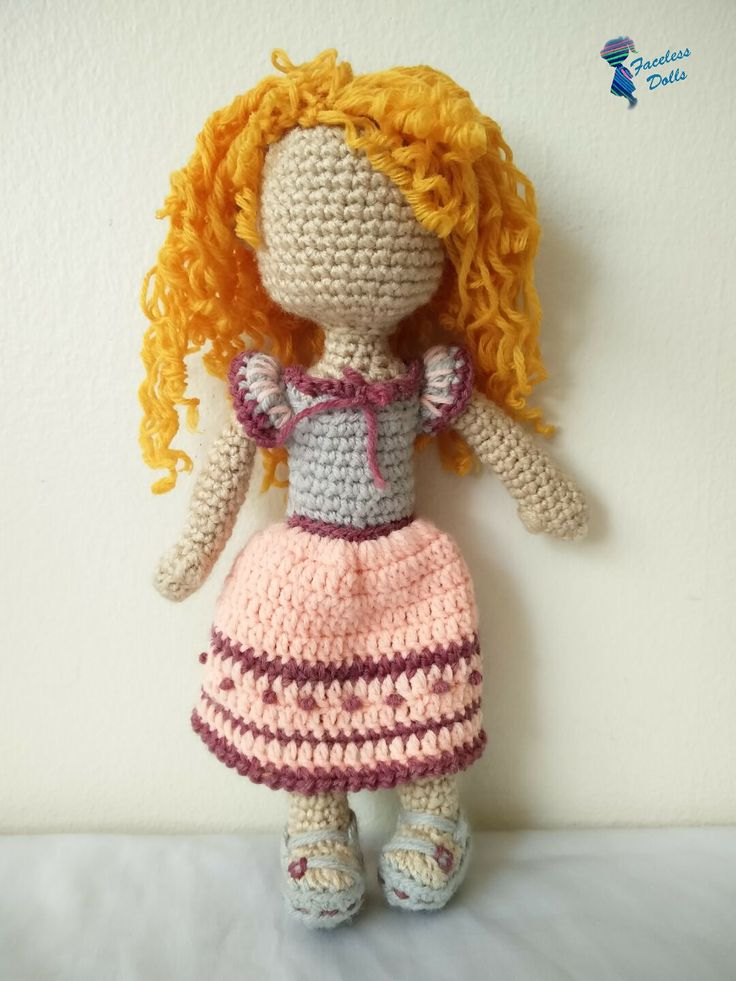 Amigurumi Curly Doll : Images about faceless islamic amigurumi crochet doll