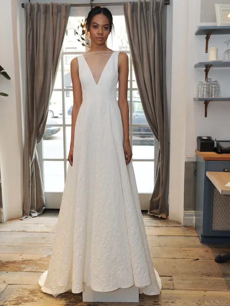 Lela Rose Previews Her Spring Wedding Dress Collection At French Restaurant Claudette For Bridal Fashion Week Video