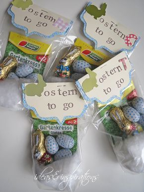 Ideas and Inspirations: DIY: Ostern für unterwegs * Easter for take away