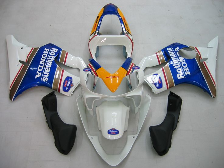 Mad Hornets - Fairings Honda CBR 600 F4i White Rothmans Honda Racing (2001-2003), $409.99 (http://www.madhornets.com/fairings-honda-cbr-600-f4i-white-rothmans-honda-racing-2001-2003/)