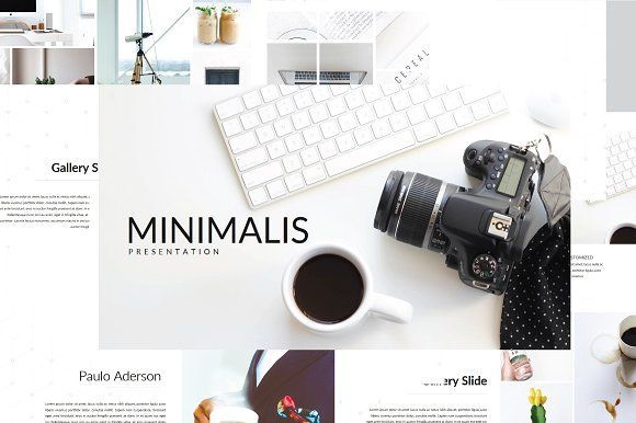 Minimalis Multipurpose Powerpoint by onestudio on @creativemarket