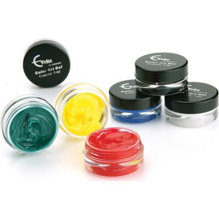 Primary 3D Color Gel Art Kit available at: www.odyssey.nailtech.com