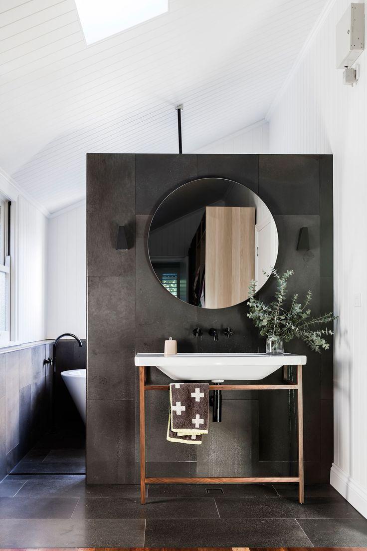 51 best bathrooms images on pinterest house gardens for Queenslander bathroom designs