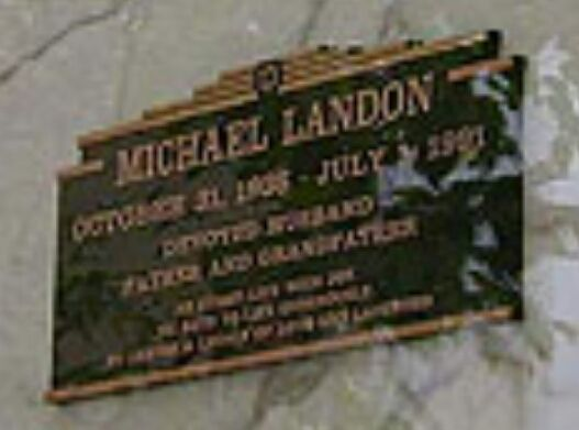 Michael Landon | Graves of the famous but not always rich ...