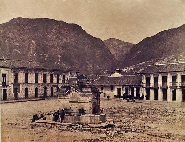 1885, Plaza Antonio Nariño, más tarde, Plaza San Victorino - Bogotá, Colombia