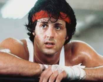 Sylvester Stallone  http://www.themoviemind.com/2012/03/25/the-greatest-rocky-triva-of-all-time-part-i/