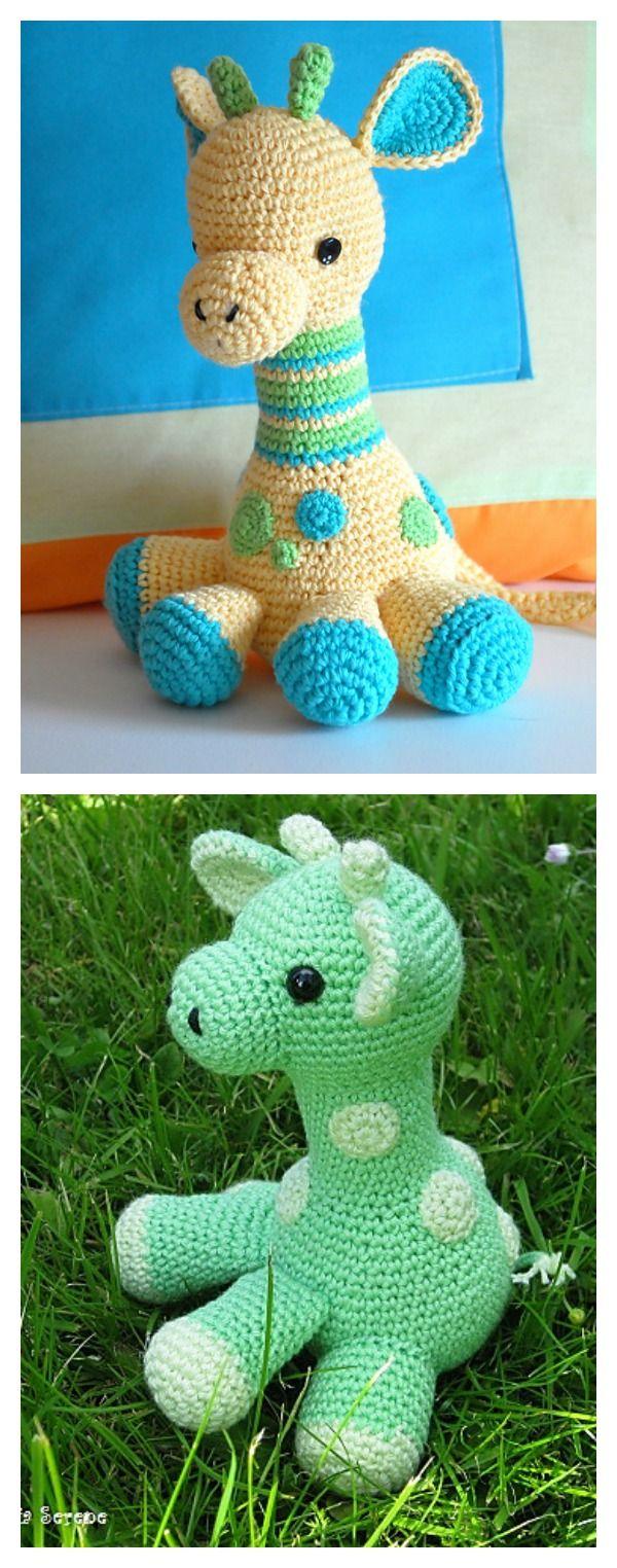 Crochet Baby Giraffe Amigurumi Free Pattern