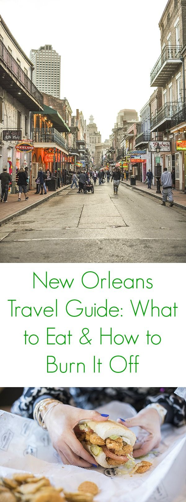 The ultimate travel guide to New Orleans. I'll tell you where to stay, what to eat and how to burn it off!